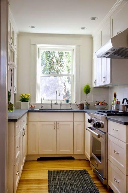 Mendesain Dapur Modern Di Ruangan Terbatas
