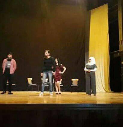 الفنانة السورية الشابة راما محمد من فرقة ابوخليل القباني إلى عالم التمثيل في خط أحمر والنداء الأخير