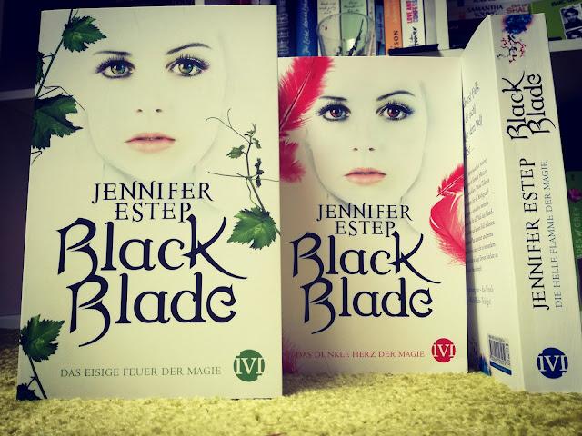 Teil 1, 2 und 3 zu der Black Blade Trilogie von Jennifer Estep