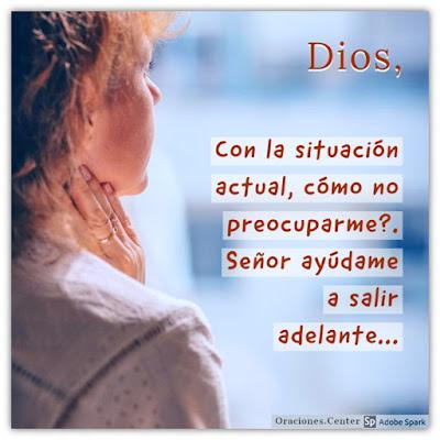 Oración para las Preocupaciones