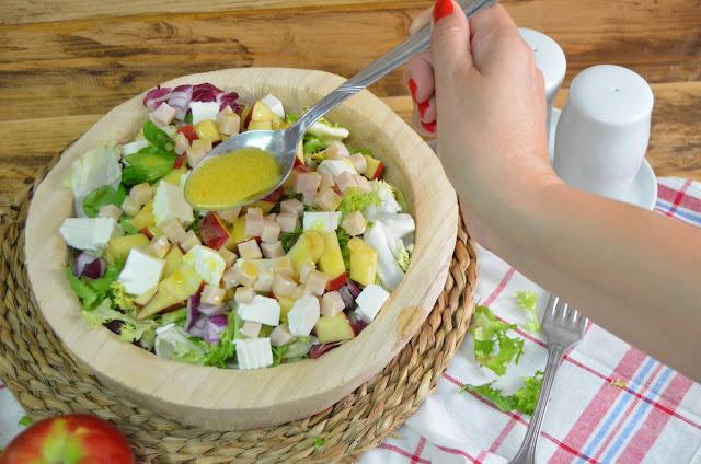 ensaladas, recetas de ensaladas, ensaladas recetas, sobras de pavo, pavo, recetas con pavo, ensalada de pavo, pavo, turkey leftover, ensaladas fáciles y rapidas, las delicias de mayte,
