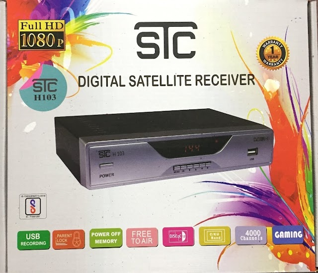 STC H-103 DVB-S2, HD FTA Satellite Receiver- Reviews, Price and Specifications