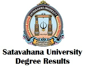 Telangana Satavahana University Degree Results 2017