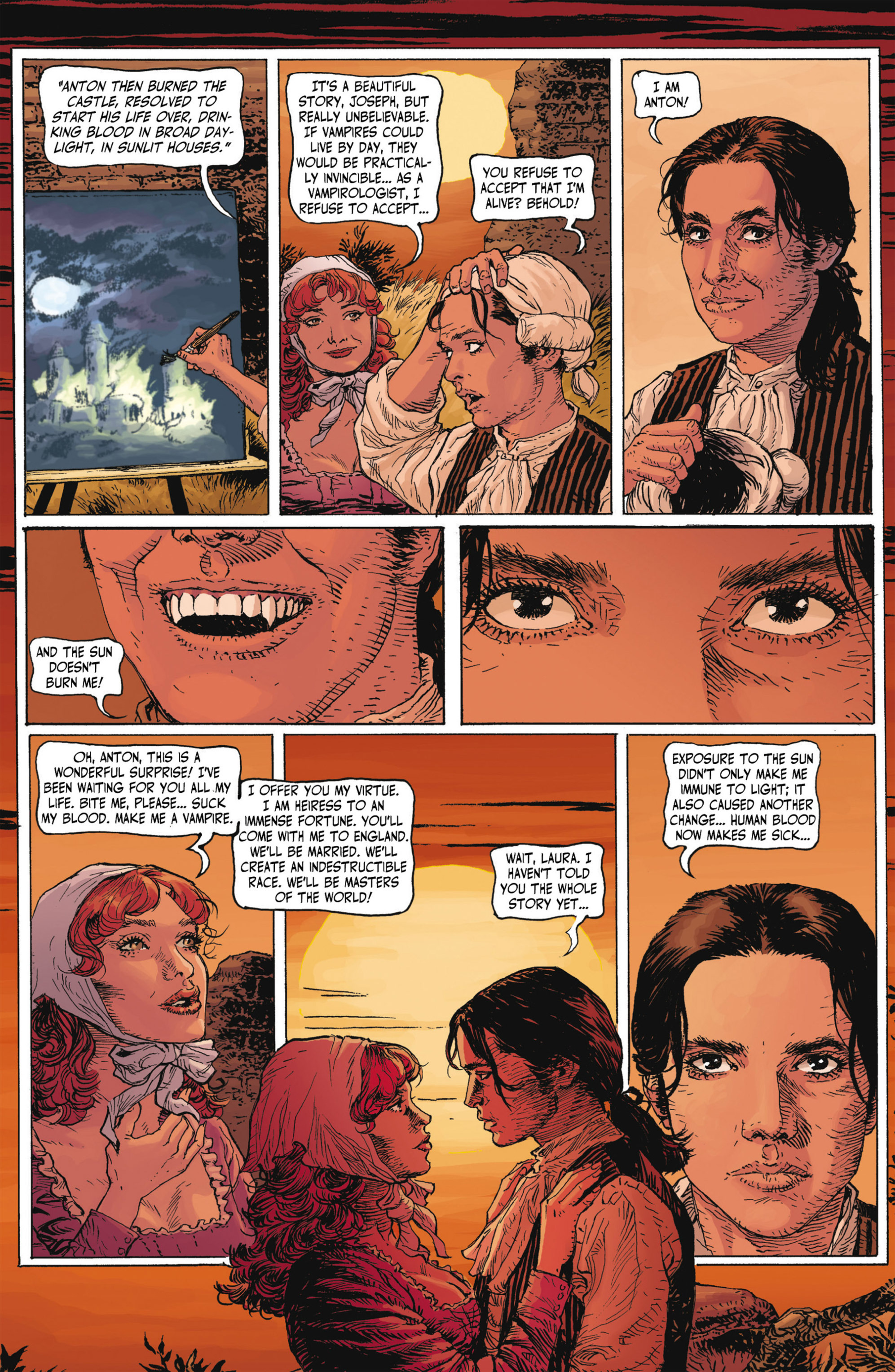 Read online Alejandro Jodorowsky's Screaming Planet comic -  Issue #1 - 43