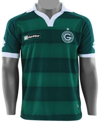 Goiás apresenta seus novos uniformes feitos pela Lotto - Show de Camisas 9a2ec6da10967
