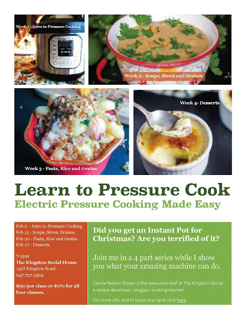Join My Learn To Pressure Cook Series Happening in Toronto This February!
