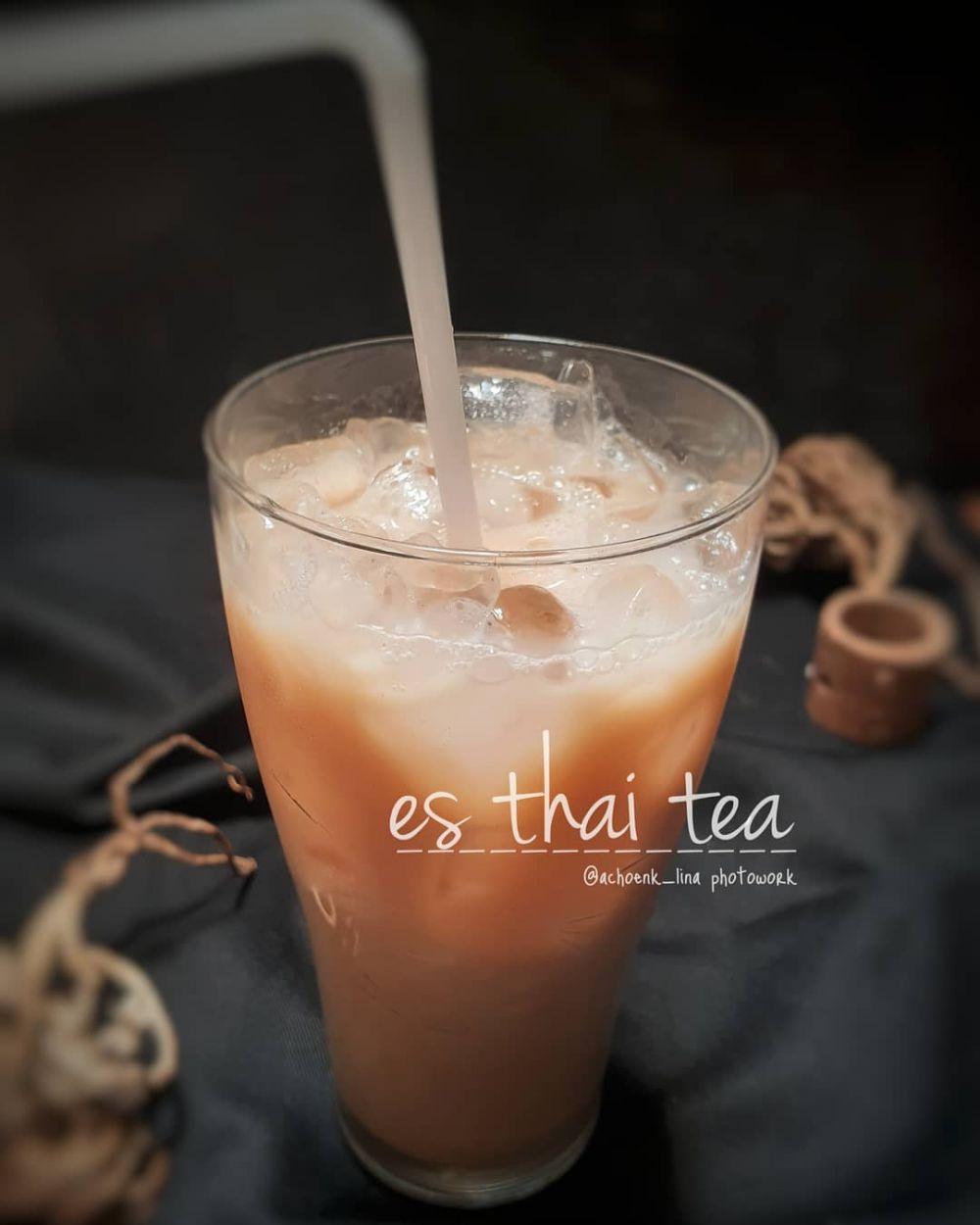 Resep Cara Membuat Es thai tea