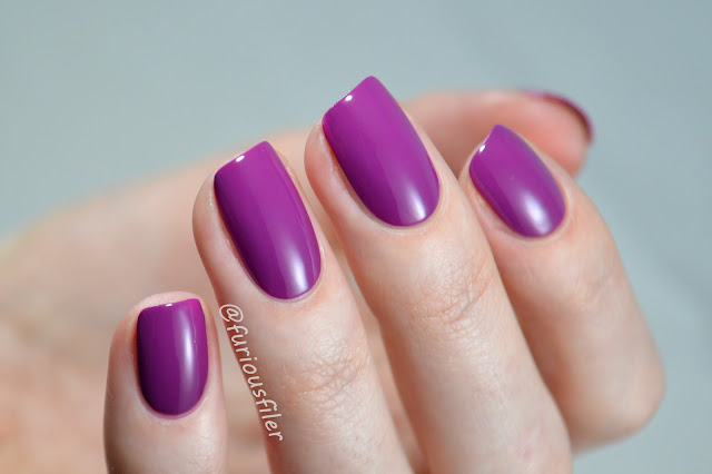 essie swatch flowerista purple nailbox february 2016 furiousfiler