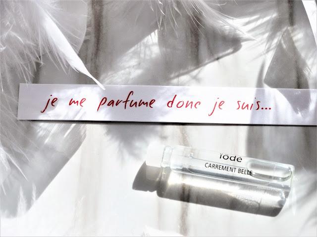 avis Iodé de Carrément Belle, parfum femme, parfum homme, blog parfum, avis parfum, perfume review