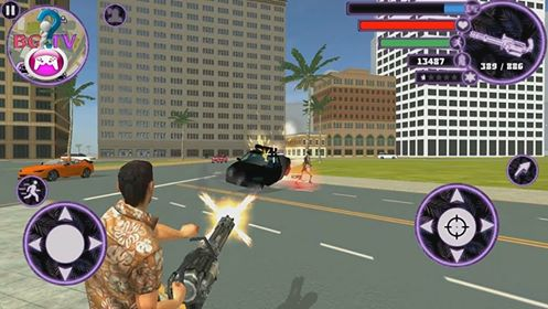 تحميل لعبة Miami Crime Simulator V2.2 مهكرة للاندرويد بحجم 100 ميجا