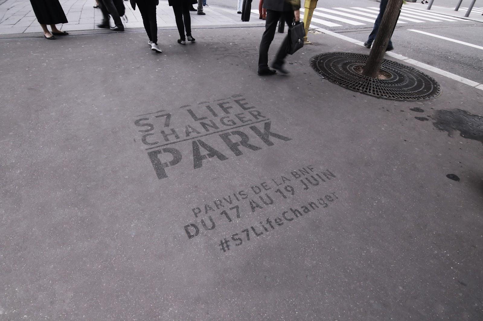 S7 Life changer Park Samsung