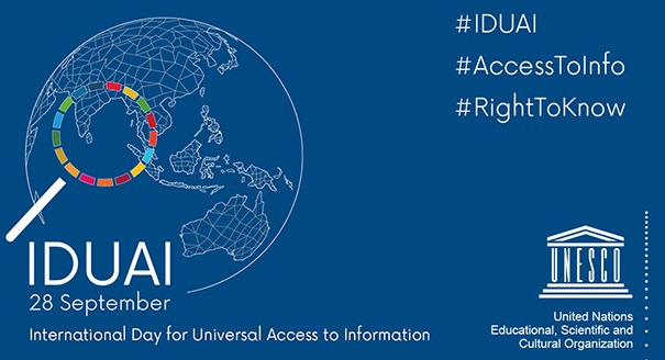International Day for the Universal Access to Information September 28, 2018