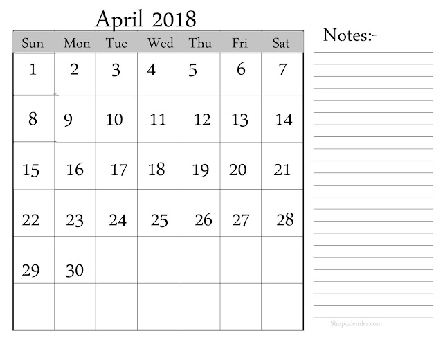 Download April 2018 Calendar, April Calendar 2018, April 2018 Calendar Printable, April 2018 Calendar Template, April 2018 Calendar with Holidays, April 2018 Calendar PDF, April 2018 Calendar Excel, April 2018 Calendar Word, Calendar April 2018, April 2018 Blank Calendar