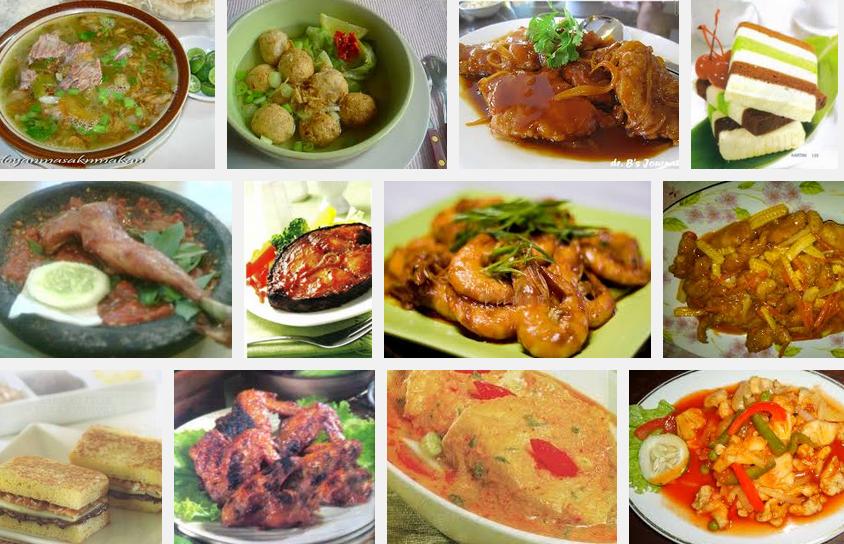 Ardiandrizki 10 Aneka Resep Menu Masakan Rumahan Sederhana