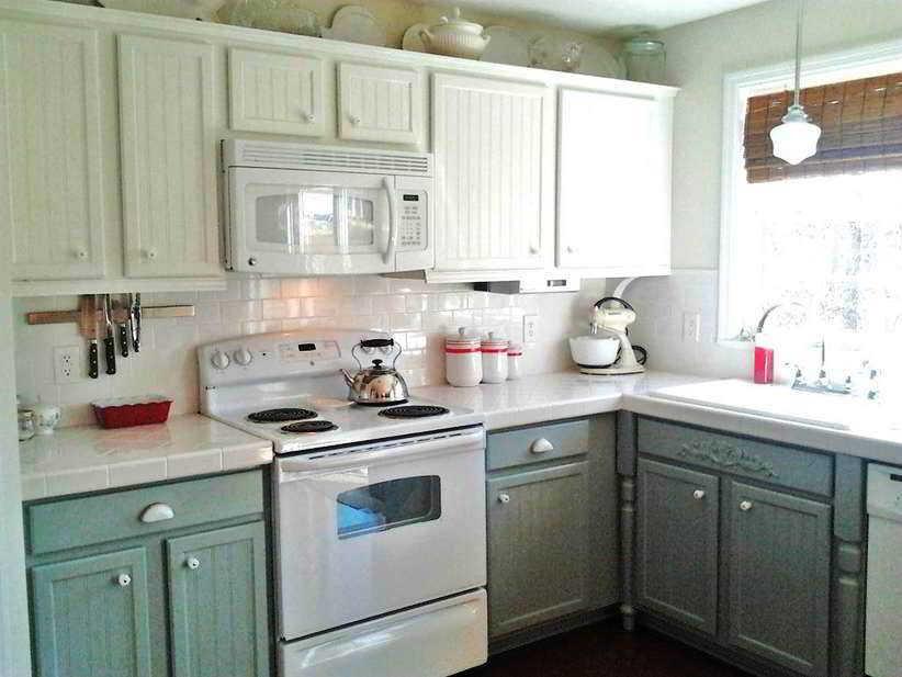 Contoh Desain Dapur Bentuk L Sederhana