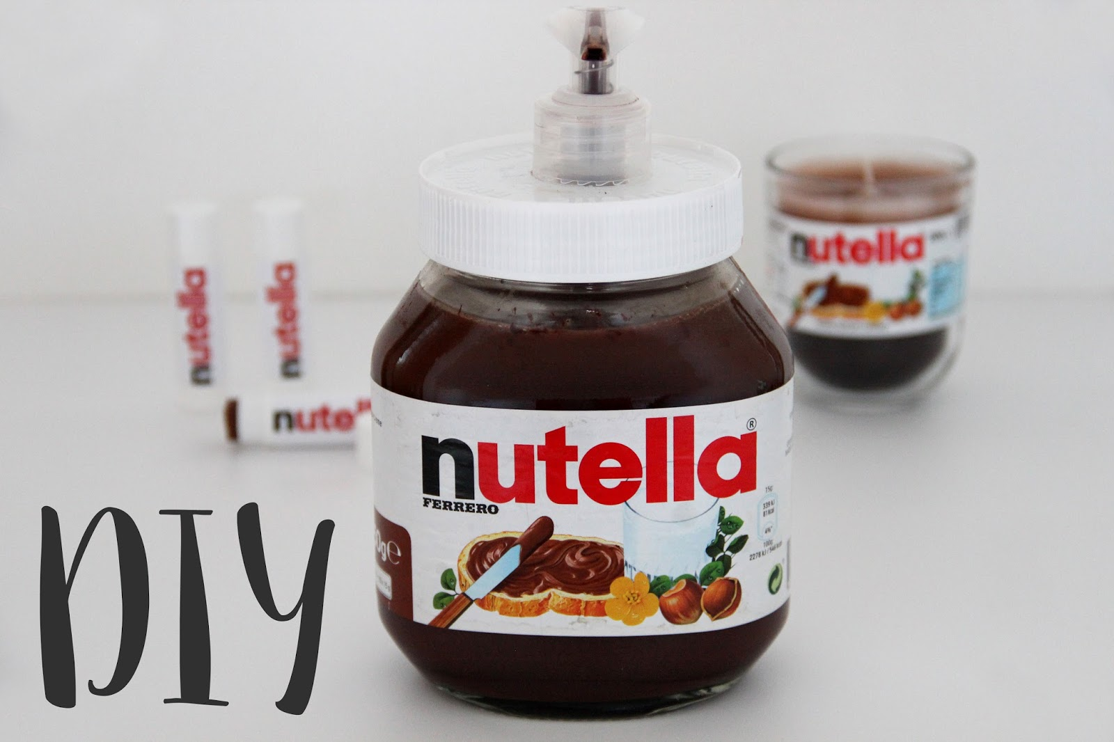 diy geschenkideen f r nutella fans stilechtes nicht nur ein mamablog. Black Bedroom Furniture Sets. Home Design Ideas