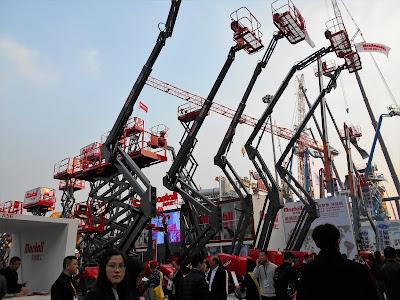 Bauma Exhibition in Shanghai 2
