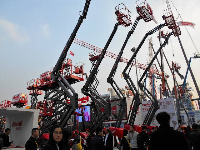 Bauma Exhibition in Shanghai 2