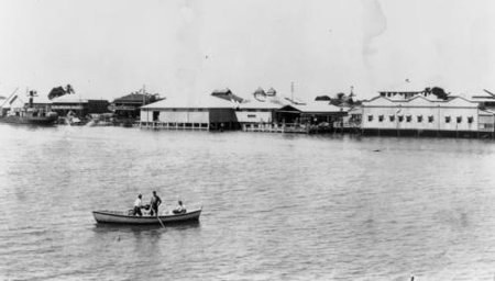 'Sailing on the Pioneer River, Mackay', c.1935 (State Library of Qld)