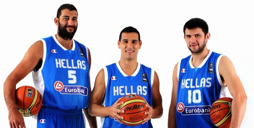 FIBA World Cup 2014: Greece roster