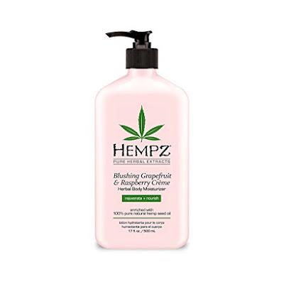 hempz grapefruit & raspberry creme moisturizer