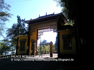 palace monastry of gangtok sikkim