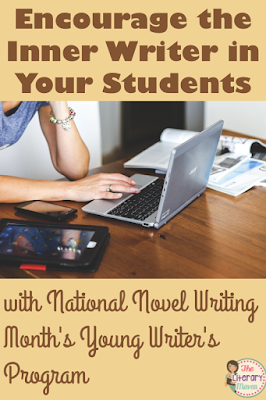 National Novel Writing Month's Young Writer's Program is the perfect opportunity to encourage the inner writer in your students. Read about one author's experience introducing the program to local school and get tips for having your own classroom participate this coming fall.