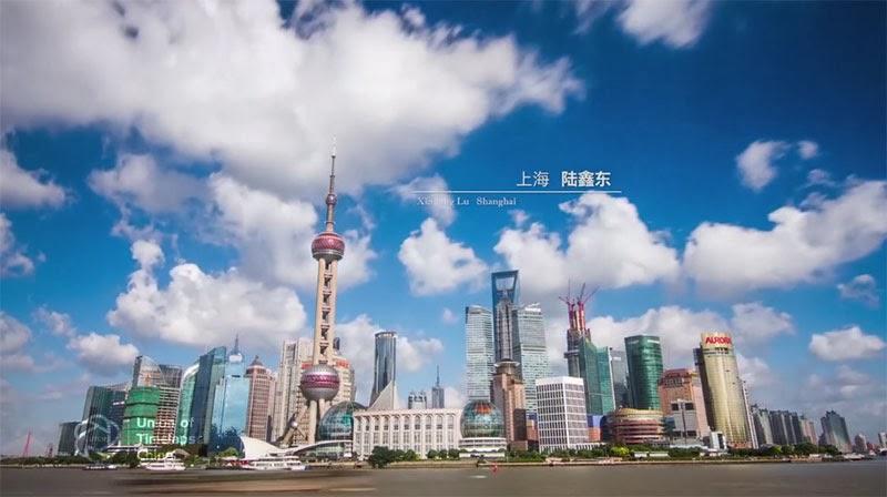 Китай в движении. Timelapse видео