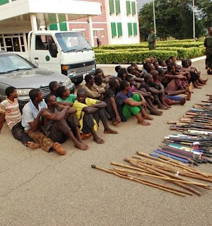 800 Herdsmen Arrested Over Dangerous Attacks