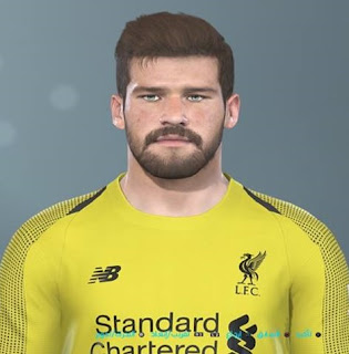 PES 2019 Faces Alisson Becker by Shenawy