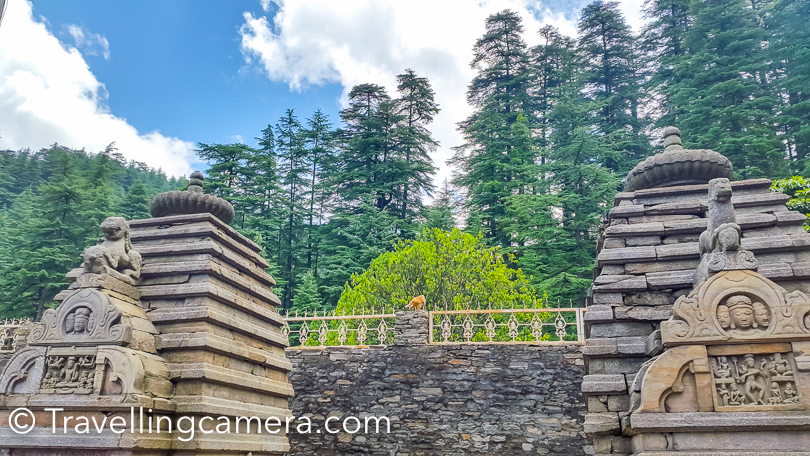 Jageshwar Temples show evidences of different architectural styles and these are built over a longer period of time. According to the Archeological Survey of India, some of these temples were built in post-Gupta era.   Another belief is that Adi Shankara built some of these temples, but there is no textual or epigraphical evidence to support this claim.   This valley of Almora in Uttarakhand has two major clusters of Hindu temples and a number of roadside shrines, which you can see in one of the photographs of this blogpost. The two largest groups are locally called as the Dandeshwar group temples and the Jageshwar group temples . In the historic text, Jageshwar is also referred to as Yageshvara.