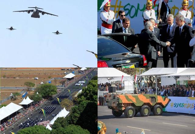 Brasília - Patriotismo supera política no 7 de Setembro