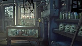 """L'interno di """"Magie Sinister"""" nella Camera dei Segreti"""