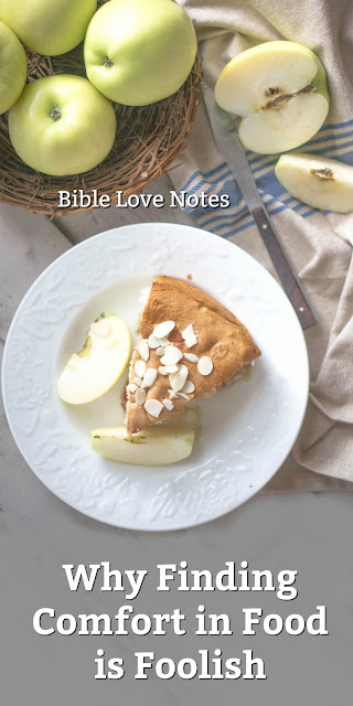 Are you seeking Comfort in Food or any other area that isn't Biblical?