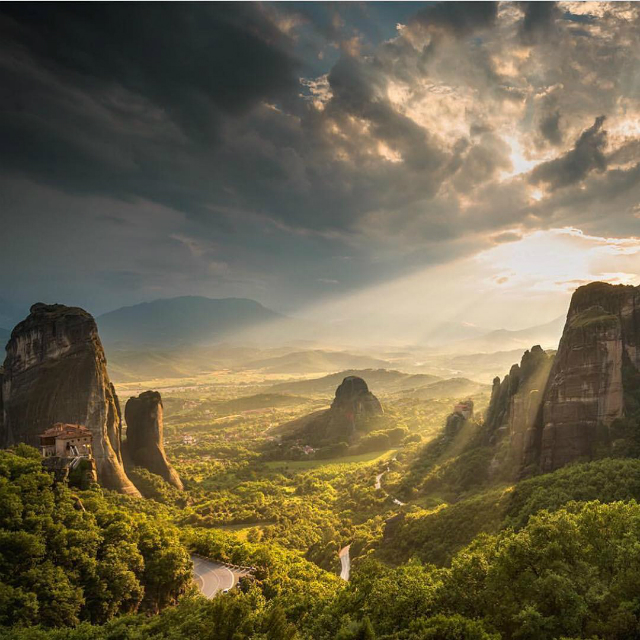 Meteora by @ilovegreece
