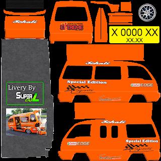 Download Livery Angkot Orange