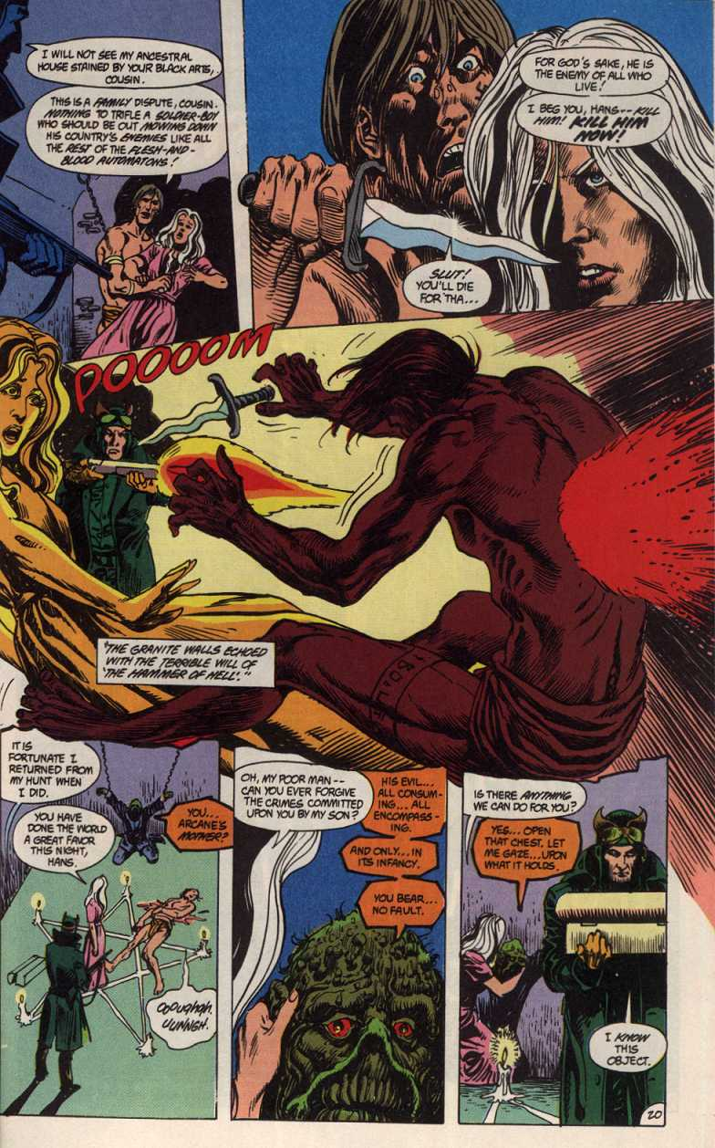 Swamp Thing (1982) Issue #83 #91 - English 20