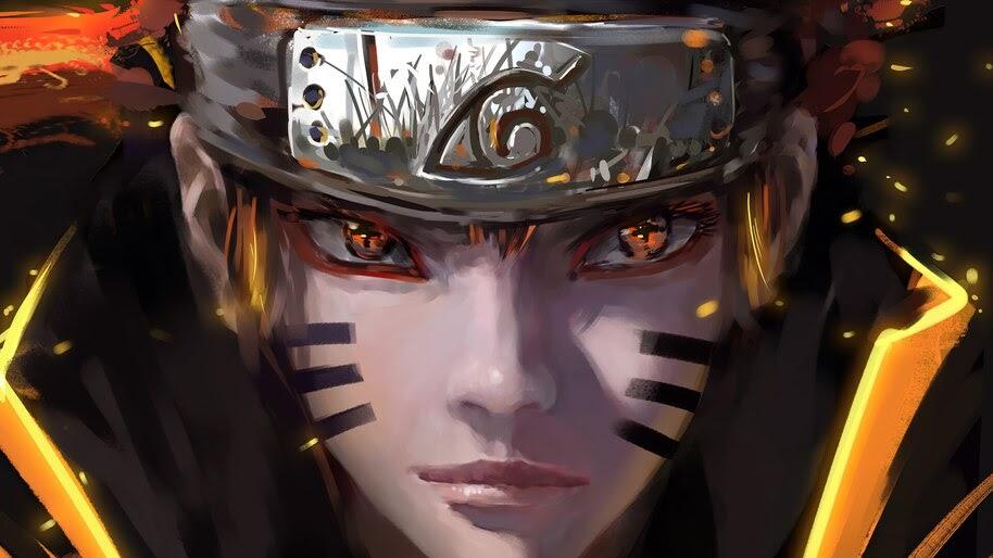 Naruto Uzumaki, Bijuu Sage Mode, 4K, #6.1354
