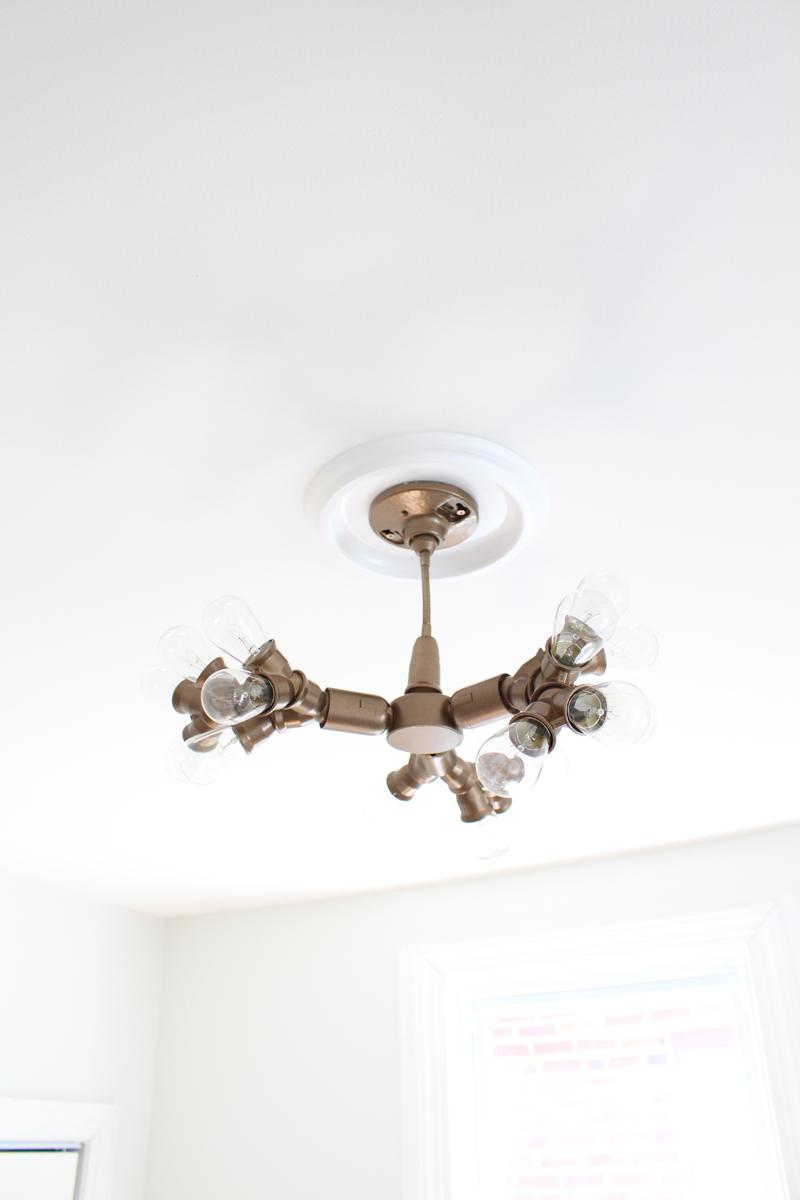 make it diy sputnik style light fixture