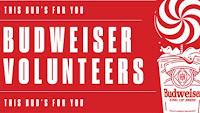 Promoção Budweiser Volunteers Lollapalooza