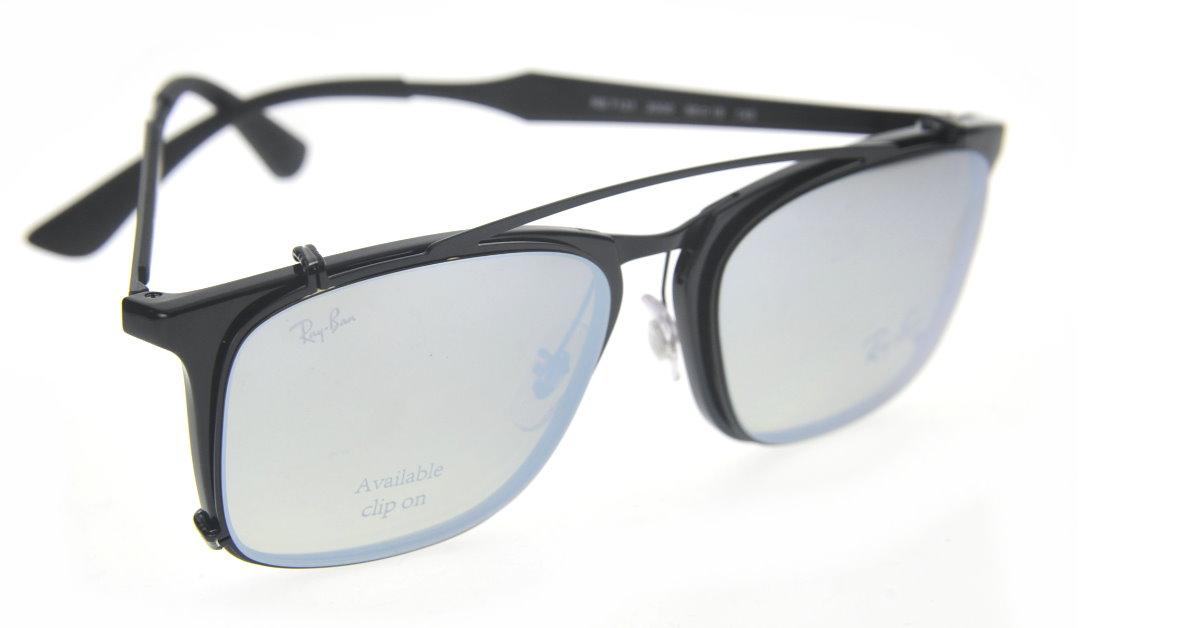 87cbf705ac ... 抗刮的高品質Ray Ban 鏡片製作,通過金屬及板材細節營造復古感的眼鏡框,並在鏡片點綴上Ray Bant  的Logo,此外每副眼鏡還均配有定製的收納包給Clip-On,方便攜帶。