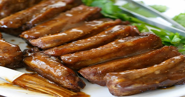 Hoisin-Glazed Spare Ribs  Recipe