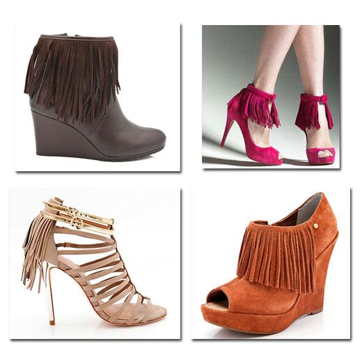 a1ec89b68 Confira a galeria abaixo com algumas novidades em roupas, calçados e  acessórios com franja: