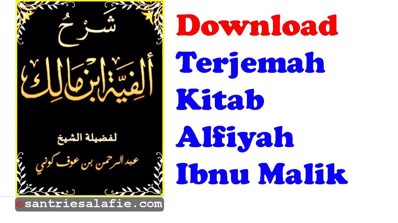 Download Terjemahan Kitab Alfiyah Ibnu Malik.pdf | Santrie Salafie