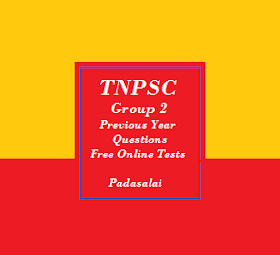 TNPSC Group 2 - Free Online Tests For Previous Year Question Papers (Tamil Medium)