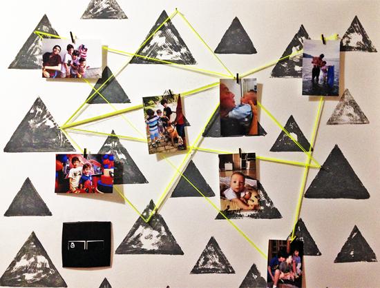 mural de fotos, mural na parede, decor, home decor, home, interior design, acasaehsua, a casa eh sua, faça você mesmo, diy
