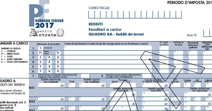 Dichiarazione dei redditi con modello 730 precompilato o for Scadenza modello 730 anno 2017