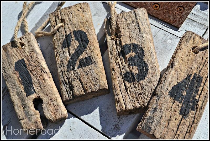 DIY Driftwood Hang Tags