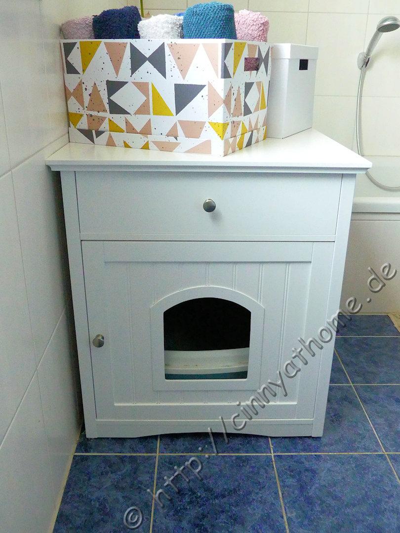 Schrank Für Katzenklo cinny home ein schrank um das katzenklo sauber zu verstecken