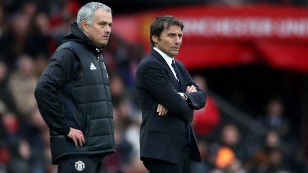 Manchester United peringkat satu dari Chelsea